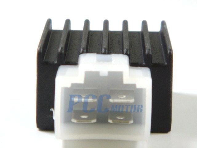 voltage regulator atv honda kazuma 50cc 110cc 12v vr01 rh pccmotor com honda gx390 rectifier wiring diagram honda gx390 rectifier wiring diagram