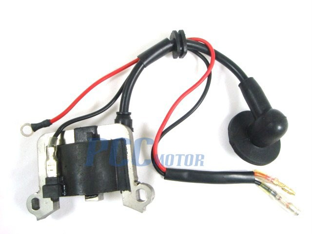 ignition coil 2 stroke 49cc super pocket dirt bike co05 rh pccmotor com 49cc pocket bike wire diagram 49Cc Parts Diagram