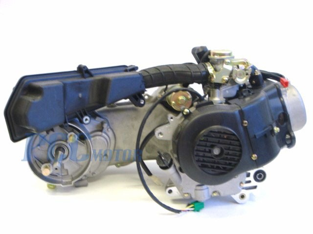 175291500_o 139qmb 50cc 4 stroke gy6 scooter engine motor auto carb long case