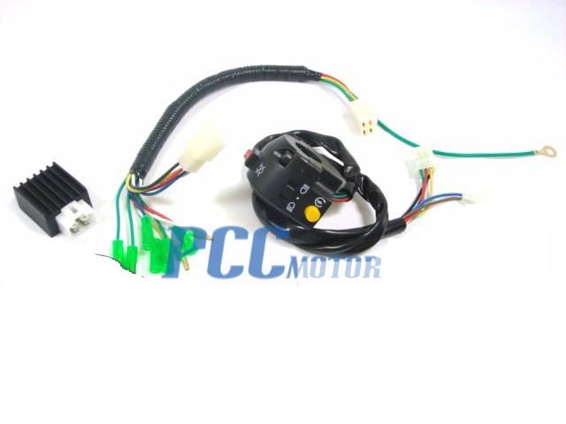 pitbike headlight kit lights light xr50 crf50 sdg ssr 107 110 125cc u lt07 ebay