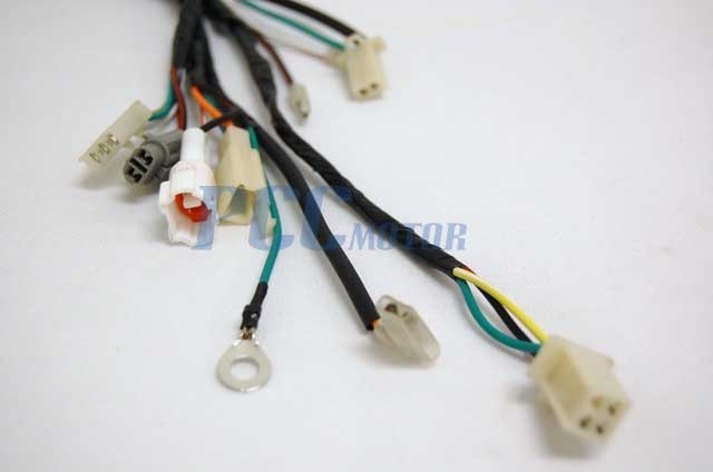 New Yamaha Pw50 Pw 50 Aftermarket Wire Harness Wiring