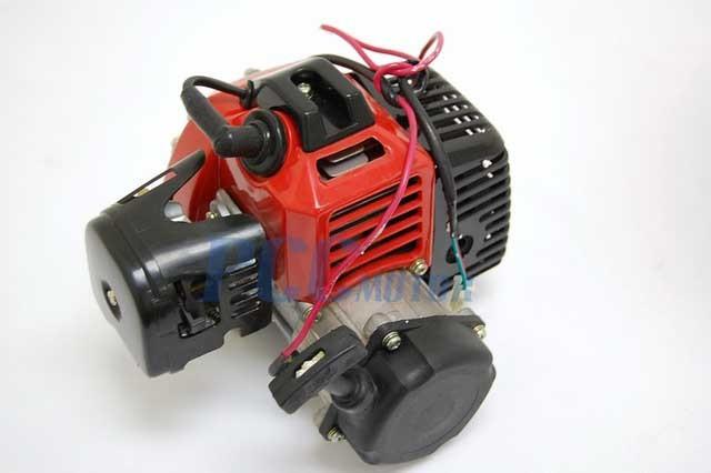 33cc Pull Start 2 Stroke Engine Electric Pocket Bike 1e36f