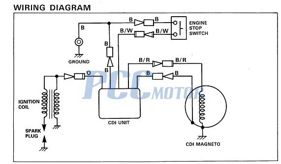 Mini Motorcycle Wiring Diagram 2001