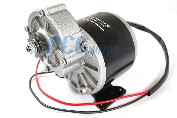 24v 350w electric motor w gear 9t sprocket 24 volt 350 watt my1016z3 h st11 24 volt motors