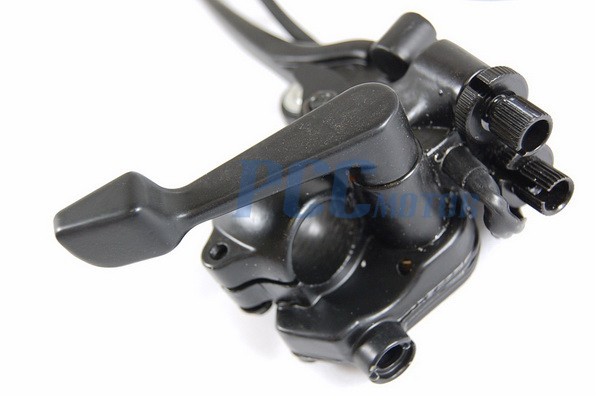 Atv Throttle Lever : Atv throttle brake lever right thumb quad cc
