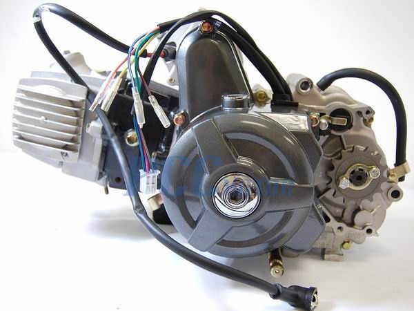 110cc Engine Motor Automatic Electric Start W   Kick Start