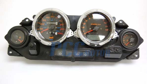 Gy6 250cc Scooter Moped Speedometer Light Gas Gauge Jonway