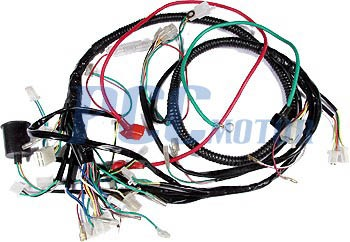 gy6 150cc wire harness wiring assembly scooter moped sunl roketa u wh09 ebay