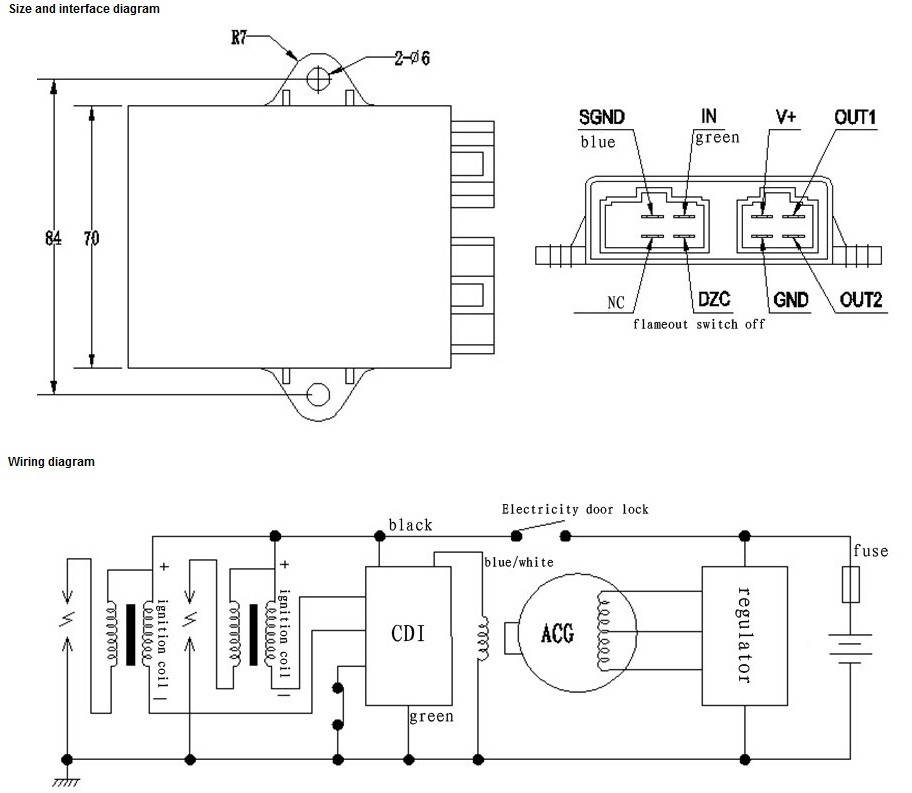 Lifan 250 Wiring Diagram - Example Electrical Wiring Diagram •