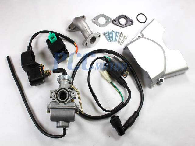 110cc Engine Motor Automatic Electric Start Carb Atv Pit Bike 1p52fmh H 110e Set