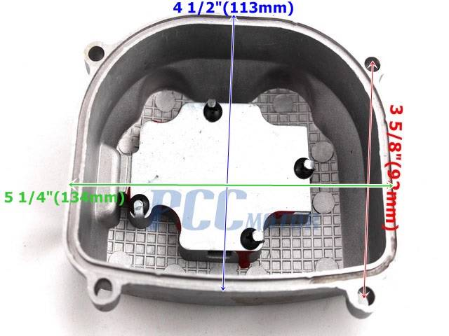 scooter atv 150cc non egr valve cover cylinder cover gy6 engine