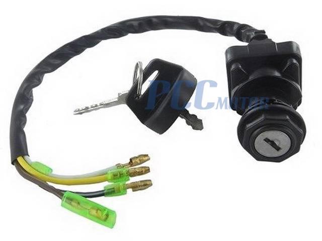 IGNITION KEY SWITCH FOR KAWASAKI BAYOU 220 KLF 110 220 ATV – Kawasaki Bayou Ignition Wiring