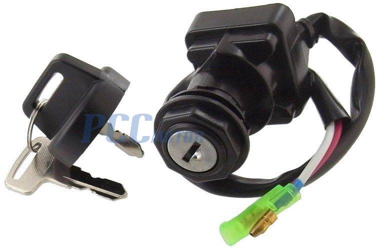 Ignition Key Switch Kawasaki Bayou Klf250 300 Prairie Kvf300 400