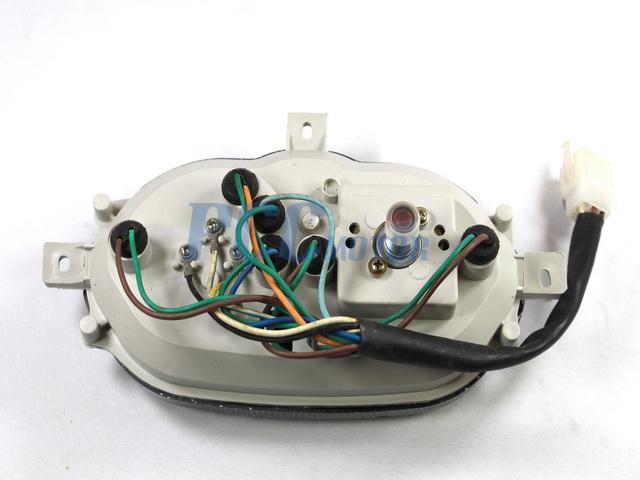 Gy6 50cc Scooter Moped Speedometer Light Gas Gauge Jonway