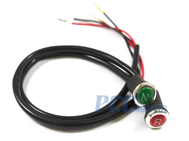 Neutral Reverse Light Gear Indicator 70cc 90cc 110cc 125cc