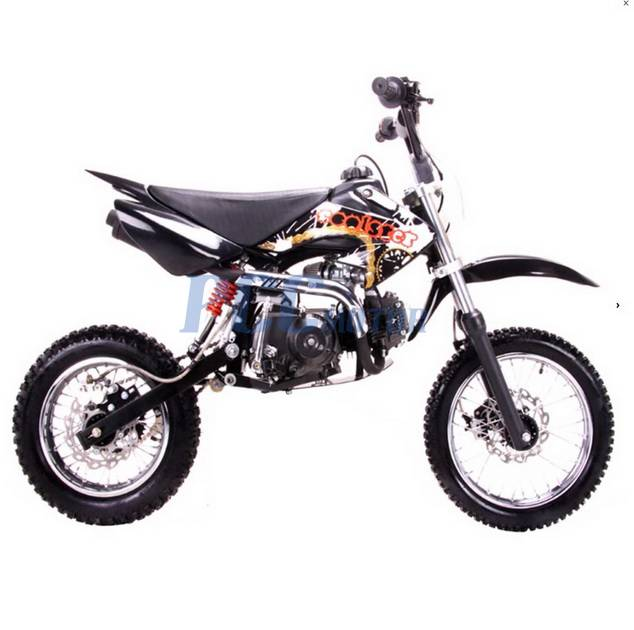 free shipping coolster dirt bike semi auto 125cc engine