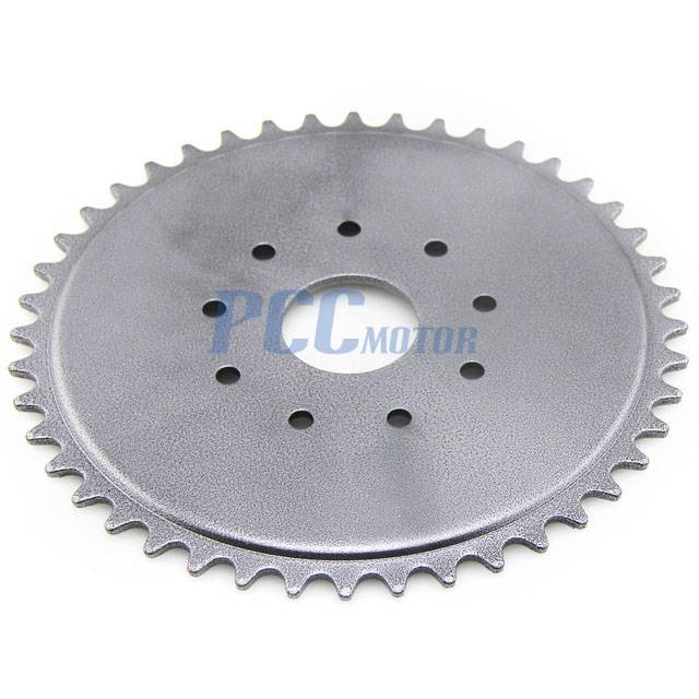415 44t 44 Tooth 9 Hole Sprocket For Motorized Bicycle Bike 49 50 66 80cc