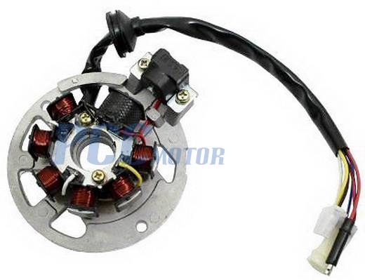 1PE40QMB Jog Stator Chinese Scooter    49cc    Mago Stator