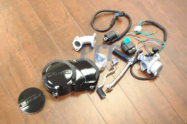 Lifan Semi 125cc Motor Engine W   Dress Up Kit Xr50 Crf 50