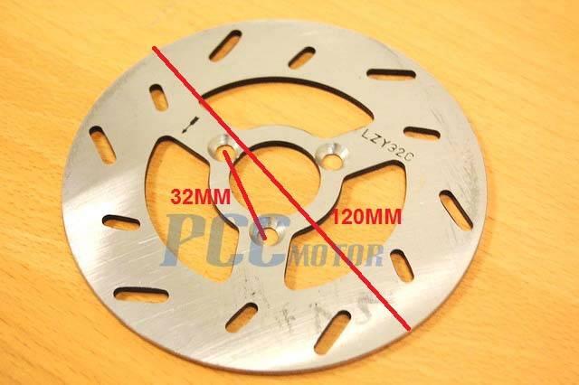 Brake Disc Rotor For 47cc 49cc Pocket Mini Atv Dirt Bike
