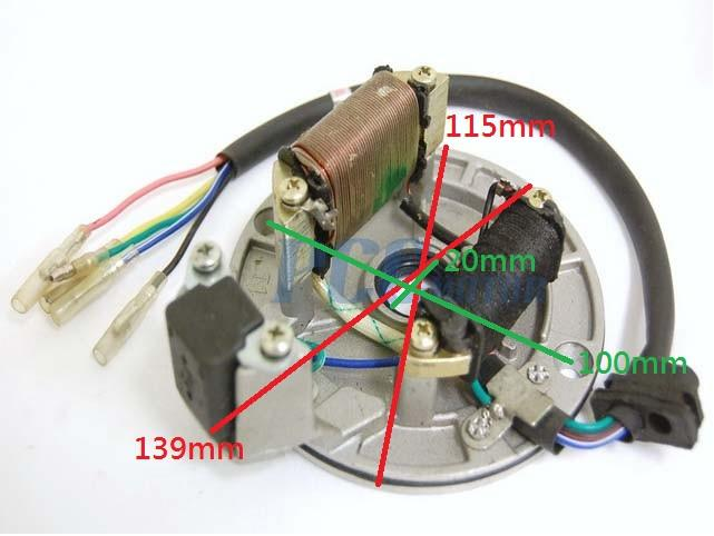 Ignition Stator Flywheel For Lifan 90 110 125 For Sale On