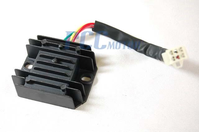 atv voltage regulator rectifier taotao coolster 200cc 250cc 4 wires fits most chinese made 200cc 250cc atvs also fit many of the honda yamaha bombardier kawasaki polaris kazuma redcat and suzuki kids models from