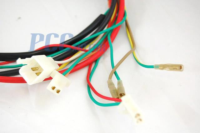 Chinese gy cc wire harness wiring assembly scooter
