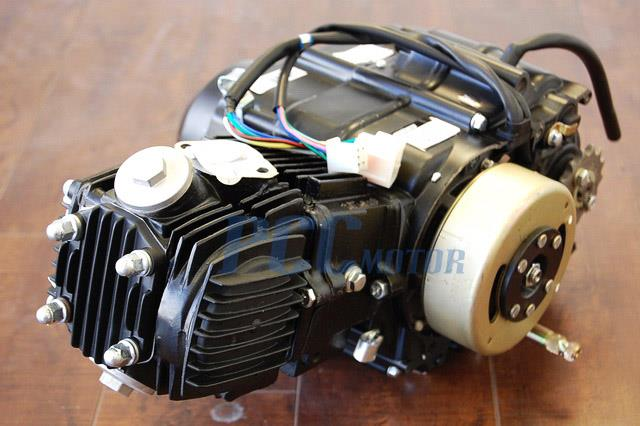 cc semi auto engine motor chinese atv pit dirt bike  basic