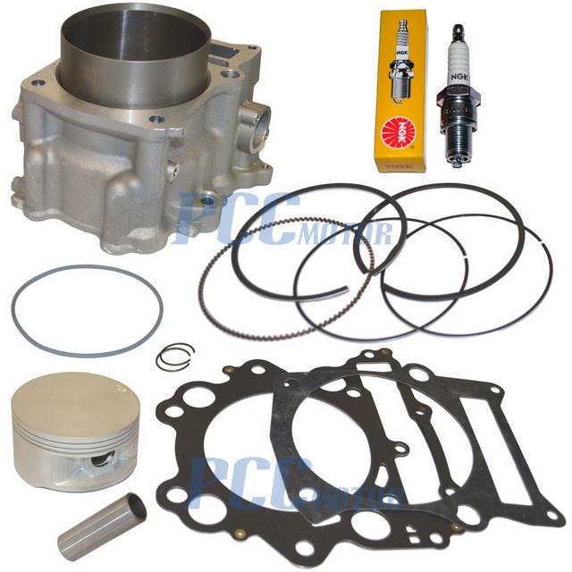 102mm big bore cylinder piston gasket kit 02 08 yamaha for Outboard motor cylinder boring