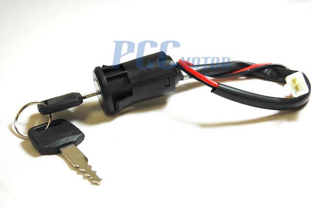2 Wires Key Ignition Switch Super Pocket Dirt Bike Atv Scooter