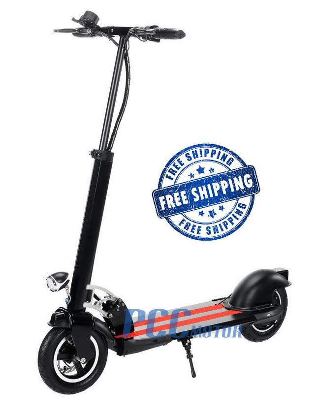 500 watt black electric scooter 48 volt batteries scooter. Black Bedroom Furniture Sets. Home Design Ideas