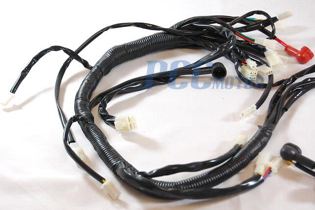Chinese Quad Wiring Harness : Wire harness chinese atv quad cc coolster dx