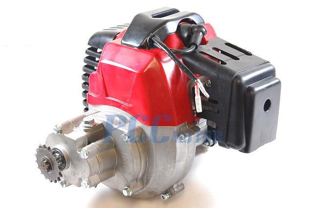 49cc Engine Pull Star 2-Stroke Super Pocket Bike G-Scooter EN04Ppccmotor.com