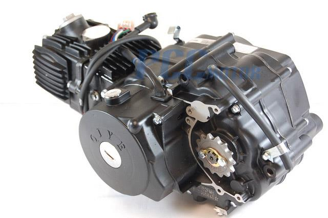 110cc Under Engine Starter Motor Automatic Electric Atv