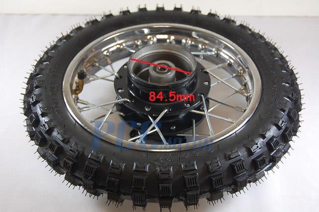 10 U0026quot  Rear Steel Rim Wheel Hub Drum Brake Xr50 Crf Xr 50 Stock Wm03ks