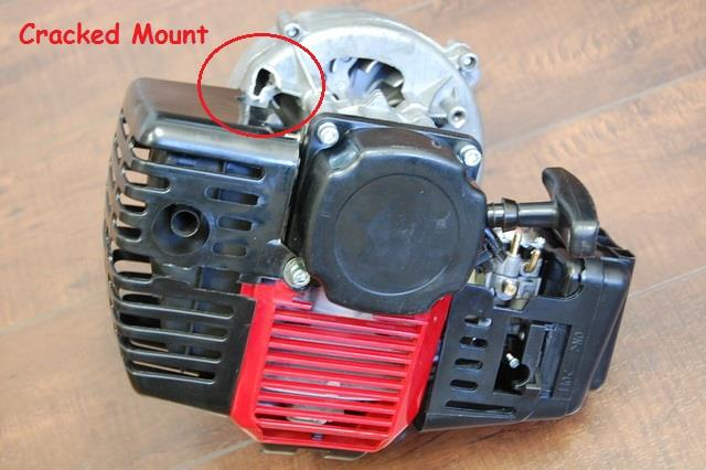 Chinese Aftermarket 49cc Engine Pull Start 2
