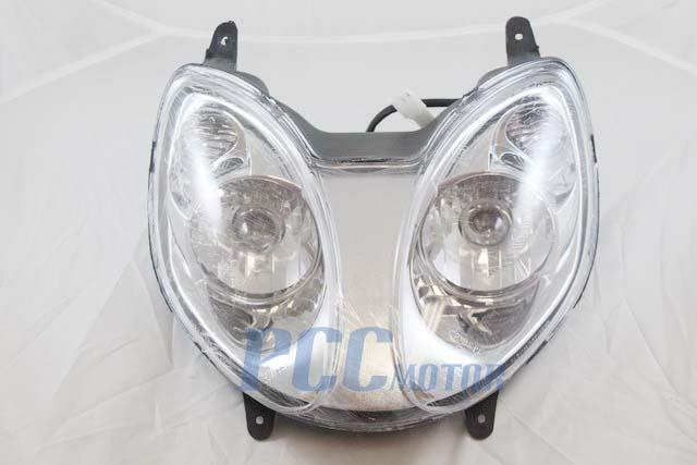 Scooter Headlight Assembly : Gy scooter moped bike headlight assembly cc
