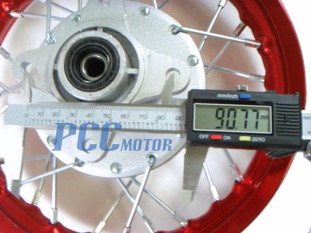 10 FRONT /& REAR RIMS DRUM BRAKE XR CRF50 RIM RM01Y+RM02Y