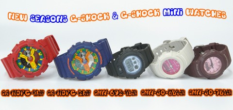 g-shock mini promo