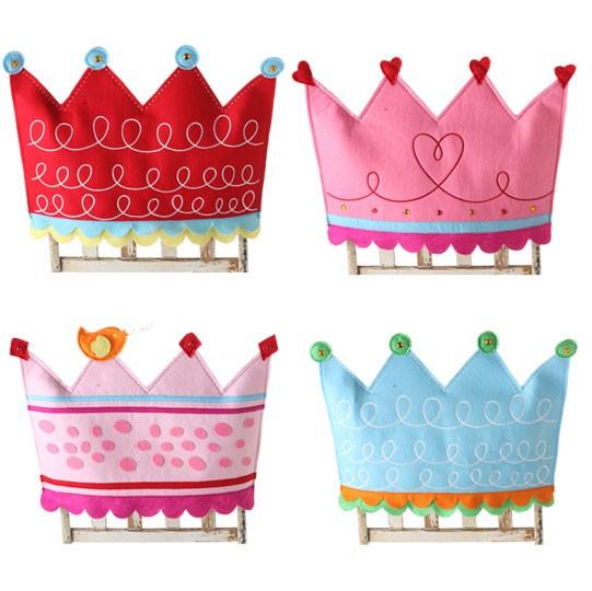 New Raz Childhood Menagerie Birthday Party Chair Covers Set 4 Ebay