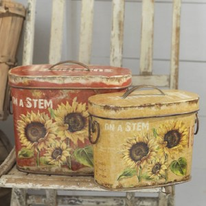 new raz sunflower canister set kitchen garden decor cc ebay country mercantile kitchen canister set flour sugar coffee