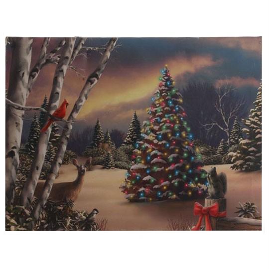 lighted canvas christmas snowman w twinkling lights new raz sd3211354 lt blue ebay. Black Bedroom Furniture Sets. Home Design Ideas