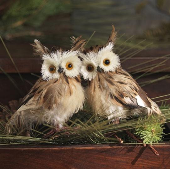 Http Www Ebay Com Itm Owl W Pine Cone 31 Inch Floral Spray New Raz Fo F3206721 Christmas Decoration 350703806053