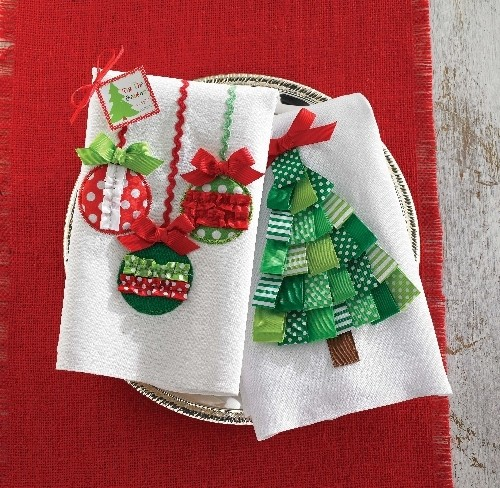 Christmas Towels Bathroom Lenox