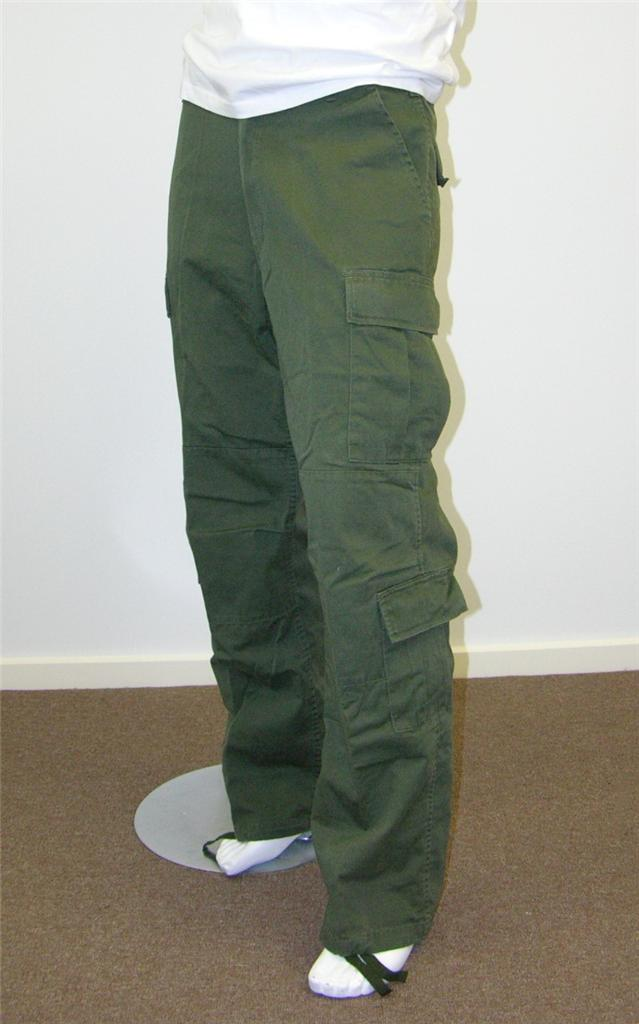 Mens-Army-Cargo-Pants-For-Work-Camp-Fishing-Green-Black-Brown-Navy-Khaki