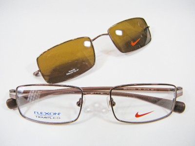 NIKE FLEXON EYEGLASSES 9123 MGB 200 MAG CLIP-ON 9123 ...