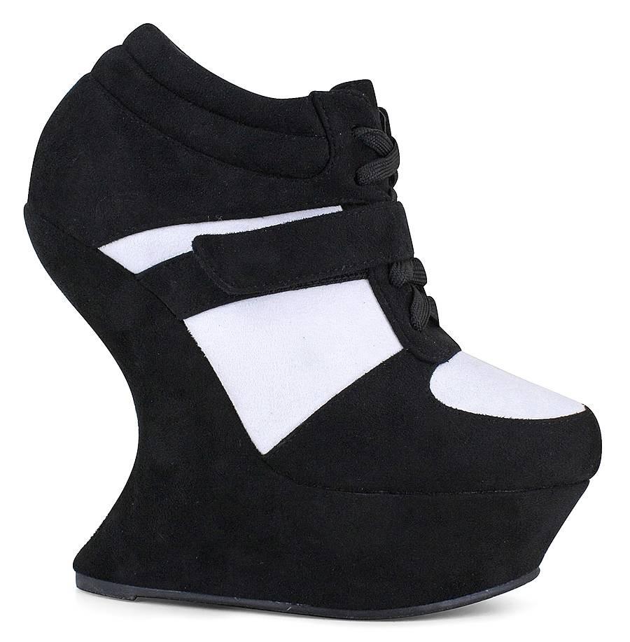 new wedge sneaker shoe size 13 ebay