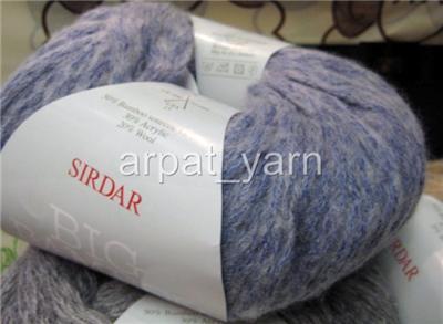 Sirdar Big Bamboo Super bulky wool Knitting Yarn +Scarf pattern eBay