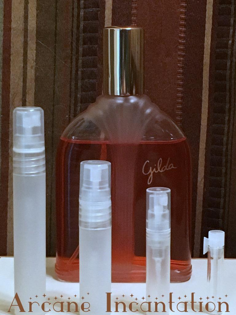 Image 0 of Vintage Pierre Wulff Gilda Eau de Parfum Samples (Ultra Rare Discontinued)