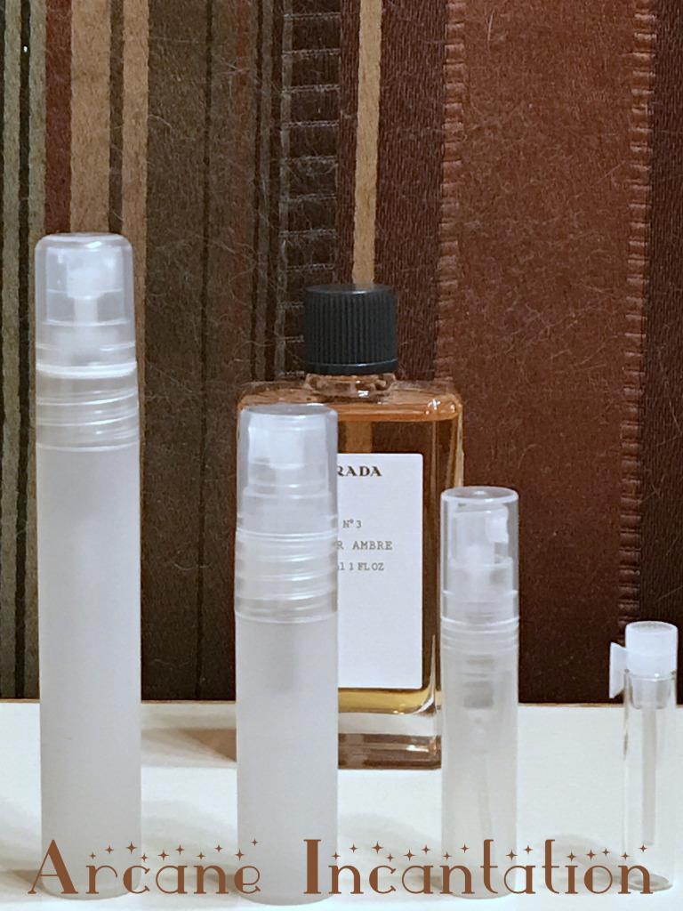 Image 0 of Prada No. 03 Cuir Ambre Pure Parfum Samples (Discontinued & Rare)